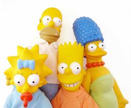 Lot of 9 Matt Groening The Simpsons Family Toys 1990 20th Century Fox JE... - $48.10