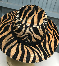 David & Young One Size Poly Animal Print Tiger Stripe Novelty Safari Hat  - €13,54 EUR