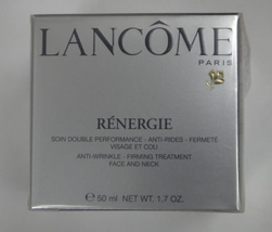 Lancome Renergie Anti-Wrinkle - Firming Treatment Face and neck 1.7oz / 50ml NIB - $89.90
