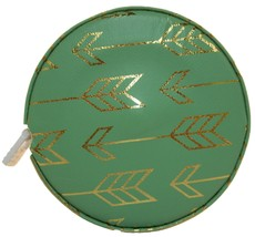 Fashion Smart Mini Metallic Retractable 5 Foot Tape Measure (Green Arrow) - $5.93