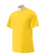 Daisy yellow XL Gildan G2000  Ultra Cotton T-shirts - $7.17