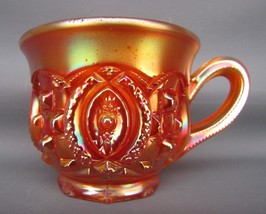 Northwood MEMPHIS Marigold Carnival Glass Punch Cup 5319 - $24.75