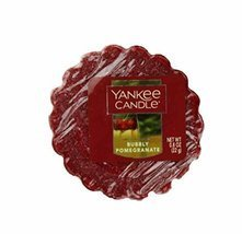 Yankee Candle Single Festive Fragranced Wax Tart Melts (Bubbly Pomegranate) - £2.63 GBP