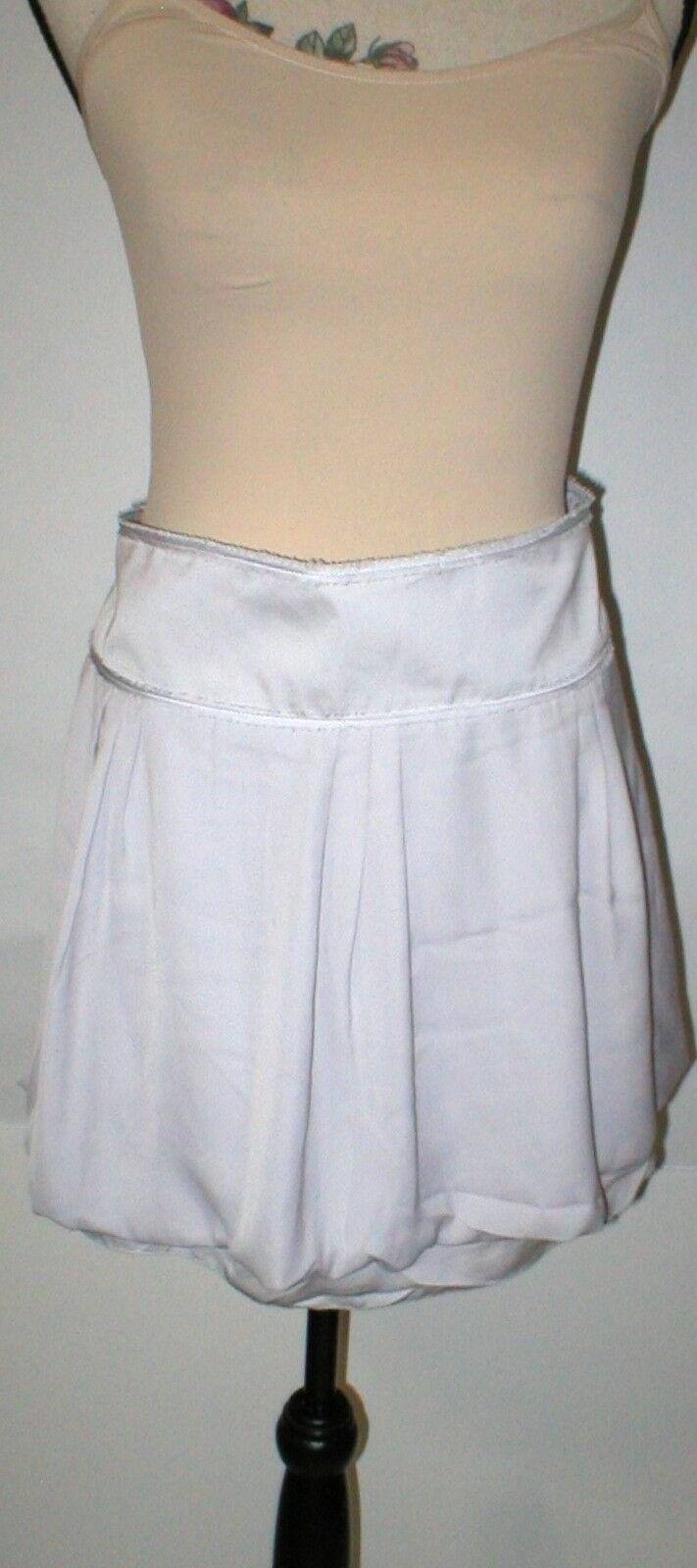 NEW Womens Gap Bubble $50 Skirt NWT 14 Mini Starlight Very light Grayish Purple
