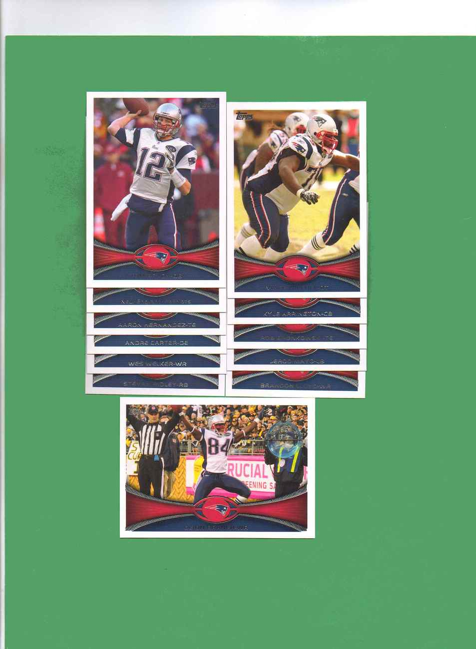 Primary image for 2012 Topps New England Patriots Football Set