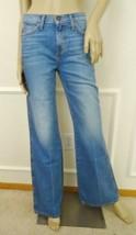 Nwt Current Elliott The Girl Crush High Waist Flare Denim Jeans Blue Col... - $79.95