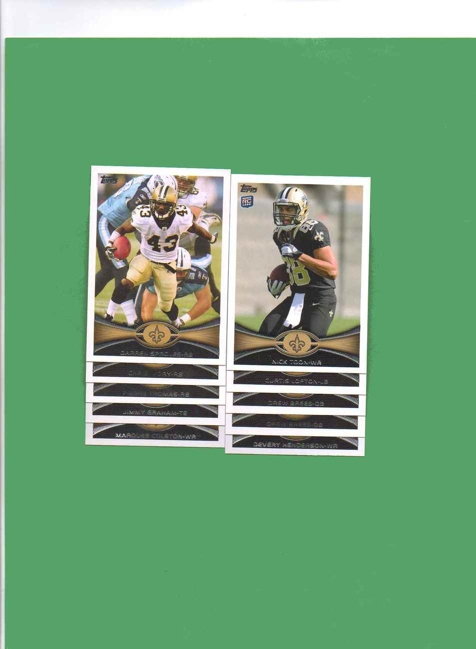 Primary image for 2012 Topps New Orleans Saints Football Set