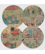 Richie Rich/ Madhouse Comics Round Coasters - Set of 4 - $21.00