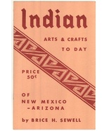 Indian Arts & Crafts Sewell book Native American vintage jewelry pottery... - $14.00