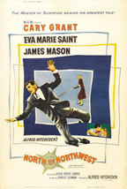 North By Northwest Poster 24X36 Alfred Hitchcock Cary Grant Roger Thornh... - $19.99