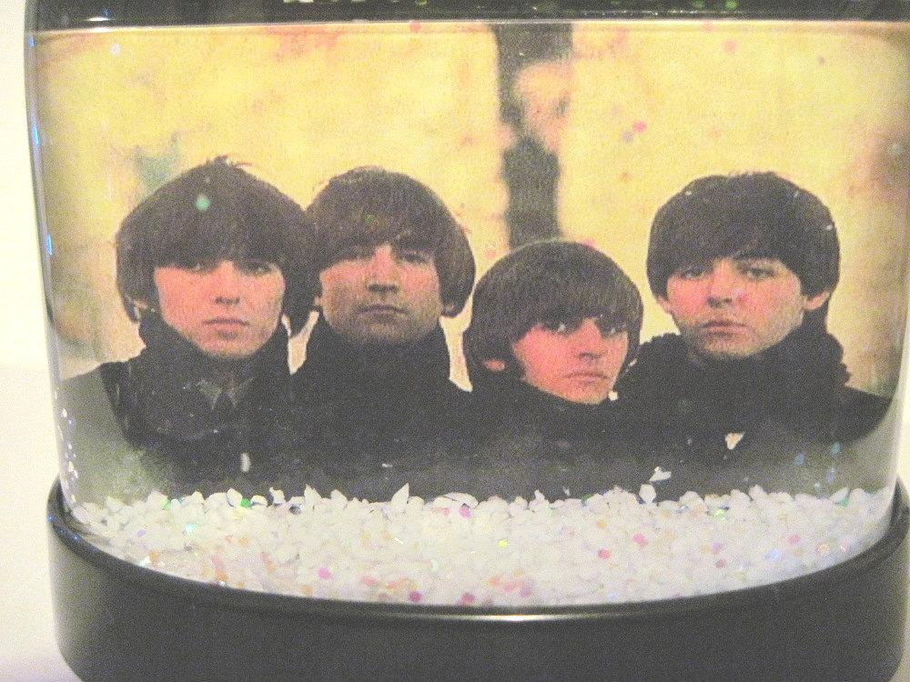 The Beatles For Sale Snowglobe John Paul George & Ringo Snowglobes Snow Globes