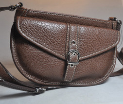 Nine West - Saddle Bag Handbag Purse - Brown P-0015601NC - $21.57
