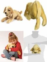 Folkmanis Puppets - 2833 - Marionnette et Théâtre - Yellow Labrador Puppy  - $65.46