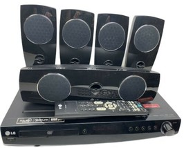 Lg LHT854 DVD/CD Home Theater System Receiver Hdmi Full Hd Remote Tested Bundle - $188.00