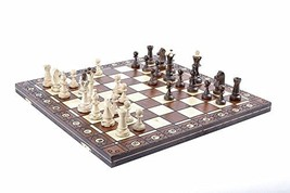 Wegiel Chess Set - Consul Chess Pieces and Board - European Wooden Handm... - $54.29