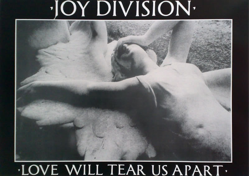 Primary image for Joy Division Poster Love Will Tear Us Apart Music Poster 33 x 22 inches