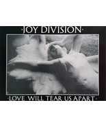 Joy Division Poster Love Will Tear Us Apart Music Poster 33 x 22 inches - $24.99