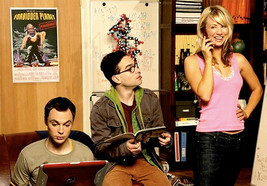 Forbidden Planet Poster 26x38 inches Big Bang Theory background image 2