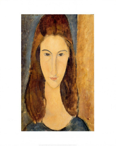 Jeanne Hebuterne by Modigliani Art Print Poster Bewitched TV Show 16X20 IN