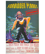 Forbidden Planet Poster 26x38 inches Big Bang Theory background - $24.99