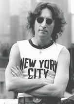 John Lennon Poster 24x36 New York City NYC T-Shirt Tee Shirt 61x90 cm - $15.99