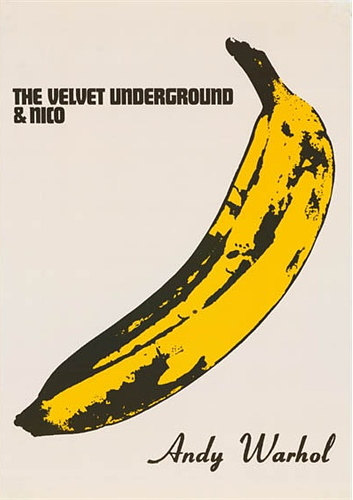 Velvet Underground Banana Poster 24x36 inches Andy Warhol Lou Reed Nico