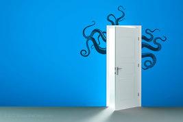 Octopus Tentacles Vinyl Wall Art - $26.95