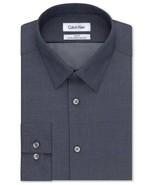 Calvin Klein Big Tall 3XL Classic-Fit Non-Iron Herringbone Dress Shirt 1... - $24.70