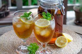 Lenier's Flavored Lemon Green Ice tea 3- 1/2 gallon 2qt. tea bags  Free ... - $4.39