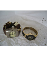 2 Retro Vintage Woman's Cuff  Watches  for Repair - $2.99