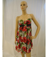 Bright Floral Top Tunic Dress Twik Exclusive for Simons Size L - $9.99