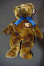 "NEW Retired 2000 TY Beanie Buddy Plush Velvety TIE DYE 14"" CLUBBY III - $14.36"