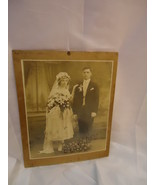 Enlarged BRIDAL COUPLE WEDDING PROFESSIONAL PHOTO 1920?  - $5.99