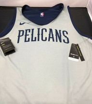 Nike NBA New Orleans Pelicans Team Training Tank Large Tall 2 Sided AJ4739-419 - $148.50