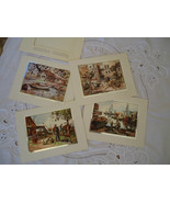 Nautical Masterpiece 4 Color-Etch Foil Prints by Lionel Barrymore - $14.99
