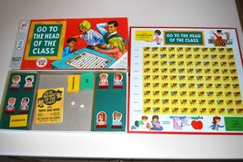 Go To The Head of The Class Milton Bradley Board Game 1967 #4175 Complete  - $24.95