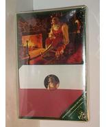 Burgoyne 42 Card Santa Claus At Fire Place Christmas Greeting Cards - $49.48