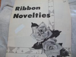 Ribbon Novelties Craft Book - $6.00