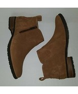 New UGG Aureo Ii Women's Suede Ankle Boots Booties Chestnut Size 8 - $94.04
