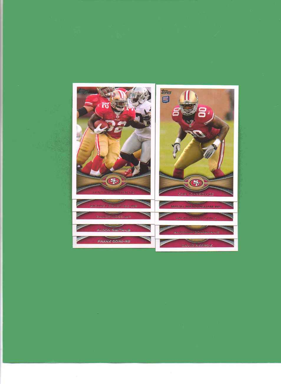 Primary image for 2012 Topps San Francisco 49ers Football Set
