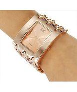 2020 Best sale  Stainless Steel Crystal Wrist Watch Women Casual Watch F... - $38.48