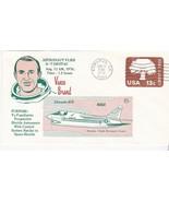 ASTRONAUT VANCE BRAND FLIES A-7 DIGITAC EDWARDS CA AUGUST 12 1976 - £1.51 GBP