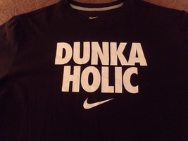 Dunka Holic, Nike Basketball, Dri-Fit, MINT/NEVER Worn, Xl Mens T-Shirt - $11.95