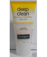 100g Neutrogena Deep Clean blackhead fighting complex scrub  - $12.09