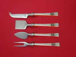 Diadem by Reed & Barton Sterling Silver Cheese Serving Set 4 Piece HHWS  Custom - $245.65