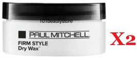 Paul Mitchell Firm Style Dry Wax 1.8 oz PACK OF 2 *Free shipping & Same ... - $28.66