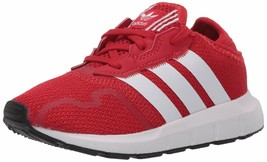 adidas Originals Kid's Swift Essential Sneaker Big Kid Size 4 FY2152 Red - $43.73