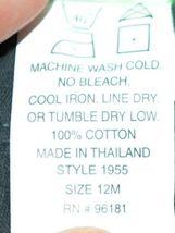 SnoPea Dark Gray Sweat Pants Elastic Waist Two Pockets Size 12 Months image 5