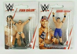 John Cena & Finn Balor WWE Mini Action Figures New in Package 2019 Mattel - $8.80