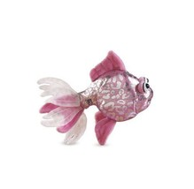 "GANZ* 8"" Long WEBKINZ LIL'KINZ Secret Code PINK GLITTER FISH Plush Toy #... - $5.93"
